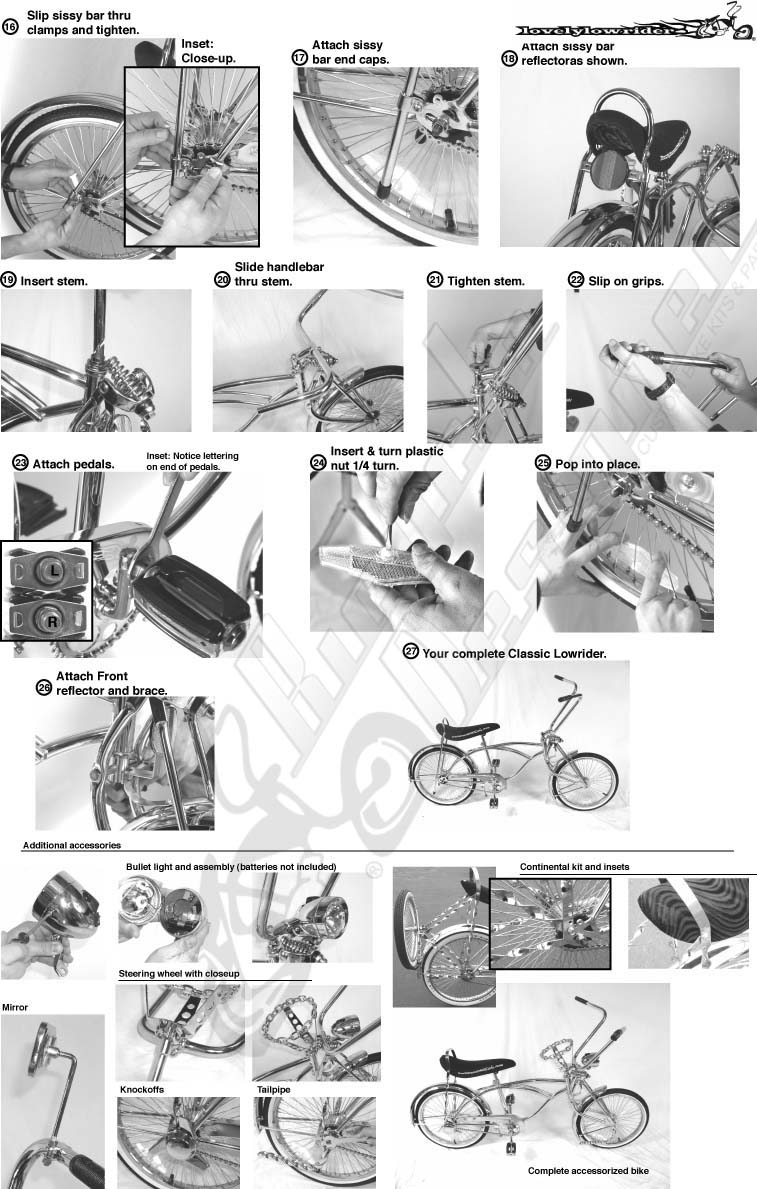 bicycle parts inexpensive useful quality bicycle parts upgrade rh bicycledesigner com pocket bike instruction manual pocket bike instruction manual