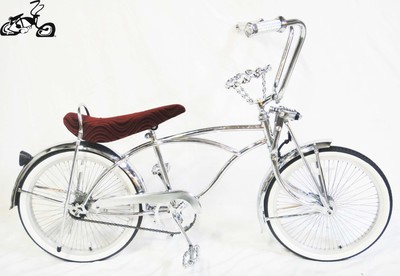 Classic Crown Lowrider - Chrome Red