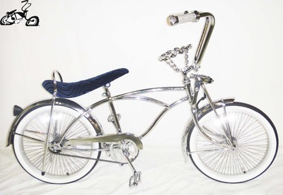 Classic Crown Lowrider - Chrome Blue