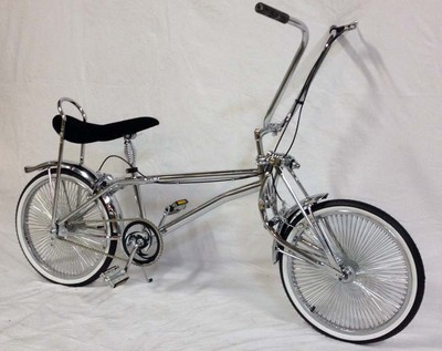 Lovely Lowrider BMX Style