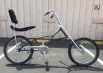 High Back Fat Tire Chopper BLACK