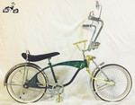 Lovely Green Bondo Bike
