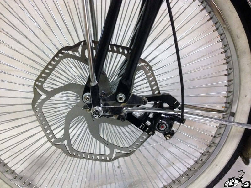 Disc Brake Caliper Adapter For A Bicycle
