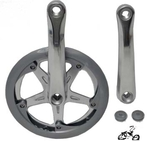 3 Piece Crank Set - Star Silver