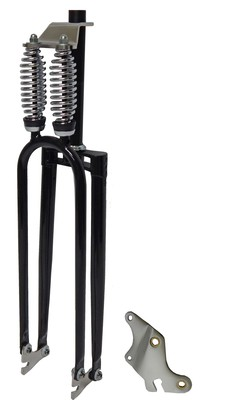 Cuda Double Springer Fork - BLACK