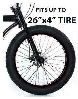 Micargi Slugo Chopper Bicycle Fork Fits 26 Quot X4 Quot Tires