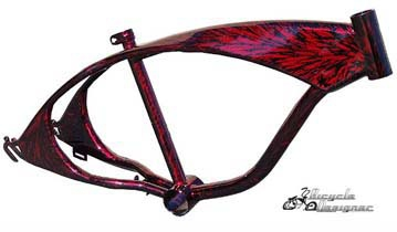 Lowrider Tank Frame - RED