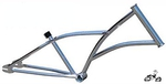 HogRider Chopper Frame CHROME