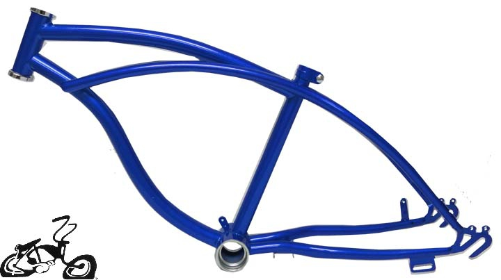 lowrider bike frame 20 royal blue