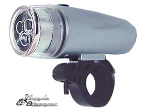 LED Headlight Triple Bulb SILVER
