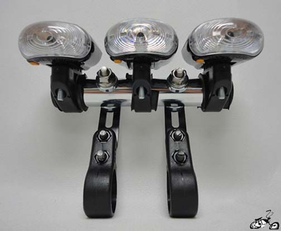 Triple LED Headlight