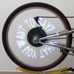 Wireless Bicycle Wheel Light
