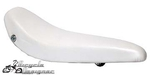 "20"" Bicycle Banana Seat Vinyl SOLID WHITE"