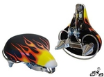 Cruiser Bicycle Seat FLAME
