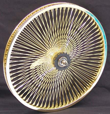 "545105 20"" 140 Spoke Coaster Wheel GOLD"