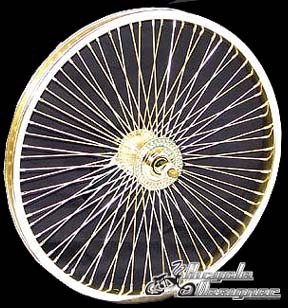 "20"" 68 Gold Front Wheel GOLD"