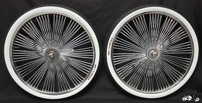 "20"" CHROME 140 Fan Coaster Wheel Kit - WWT"