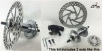 36 Spoke Disc Brake Wheel Hub Kit