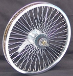 "16"" 52 Spoke Coaster Wheel CHROME"