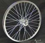 "20"" 36 Spoke Free Wheel CHROME"