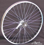 "24"" 36 Spoke Coaster Wheel Heavy Duty"