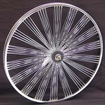 "24"" 140 Fan Coaster Wheel CHROME"