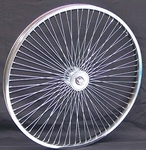 "24"" 68 Spoke Front Wheel CHROME"
