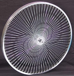 "26"" 140 Spoke Front Wheel CHROME"