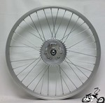 "Rear Motorized Wheel 24"" 36 Spoke"