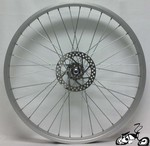 "Front Disc Brake Wheel 24"" 36 Spoke"