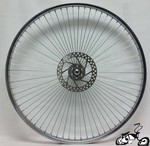 "Front Disc Brake Wheel 26"" 68 Spoke"