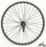 "26"" 36 Spoke Coaster Wheel Heavy Duty BLACK"