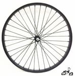 "26"" 36 Spoke Front Wheel Heavy Duty BLACK"