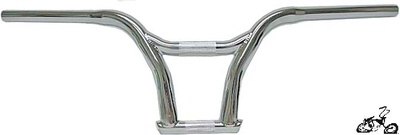 "9"" high x 28"" Gullwing-bar CHROME"