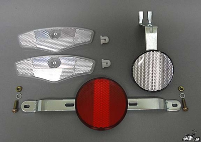 Bicycle Reflector Set - Type A