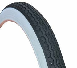 "16"" X 1.75"" Bicycle Tires WHITE WALL"