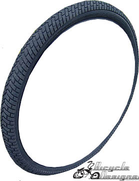 "20""x 1.95"" Road Grip Bicycle Tires ALL BLACK"