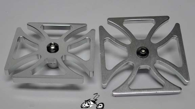 Cross Axle Spinner Coaster Wheel