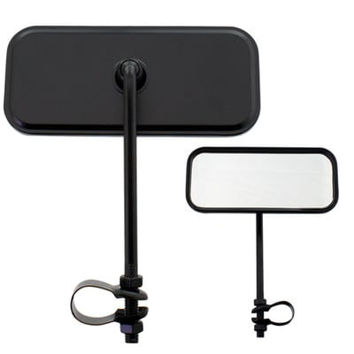Bicycle Mirror Rectangle BLACK
