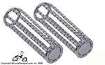 Bicycle Grips LOWRIDER TWIST CHROME