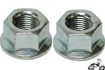 Coaster Wheel Nut (pair)