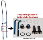 Suspension Sissybar Hardware