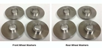 Duece Spinner Wheels Washer Set