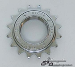 16 Tooth Free Wheel Sprocket CHROME