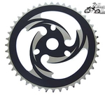 44 Tooth Sprocket Vortex BLACK/CHROME