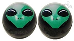 Alien Head Valve Cap (pair)