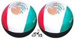 Mexico Flag Valve Cap (pair)