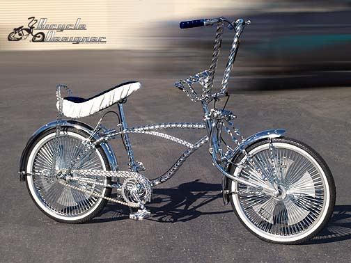 Lowrider Bicycle White Wall Tires