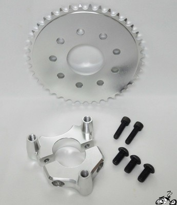 Motorized Coaster Wheel Brake Kit