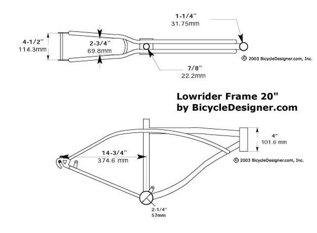 Lowrider Bike Frames